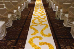 Yellow and Gold Mandap